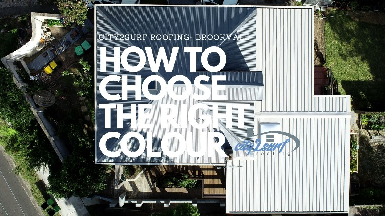 How to Choose a Colorbond Roof Colour   City2surf Roofing Sydney