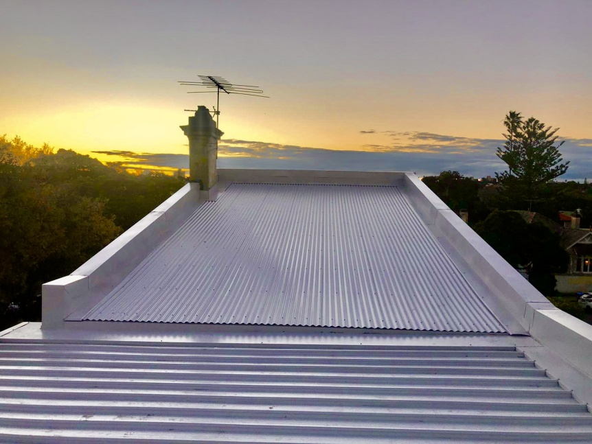 metal roofing Sydney, colorbond kliplok