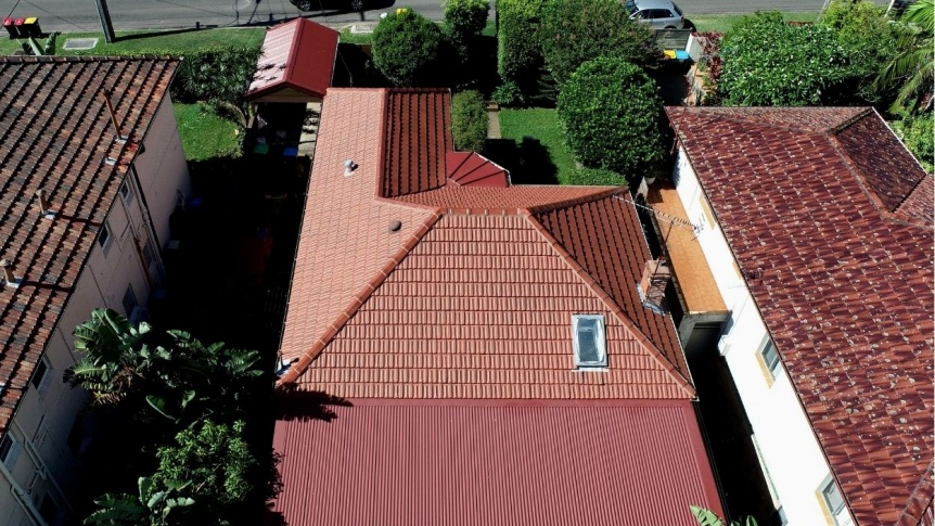 City2surf+roofing+Marseille Cottage Red Tiles