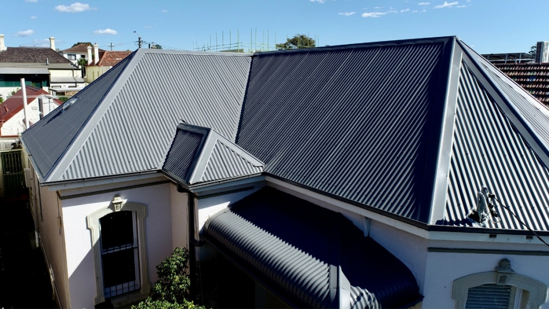 Colorbond Roofing Marrickville   City2surf Roofing Sydney