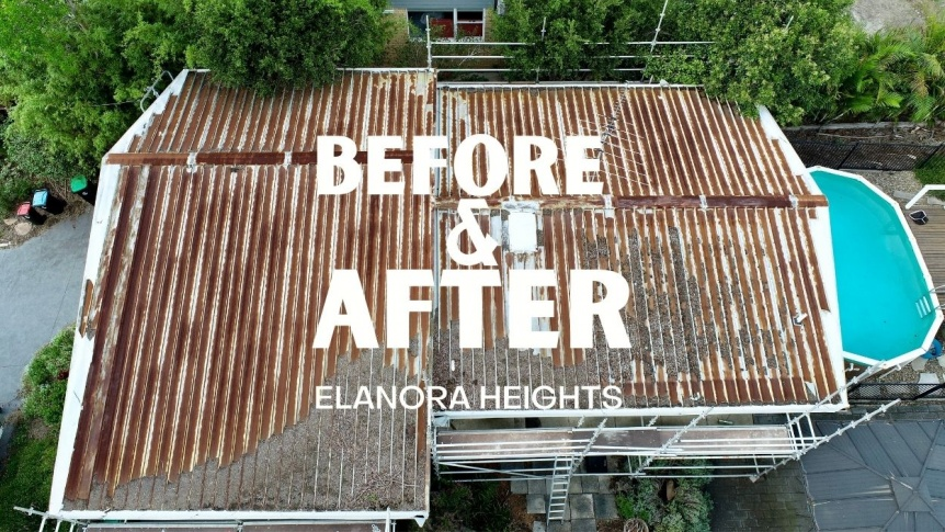 Before & After | Colorbond Metal Roofing | City2surf Roofing