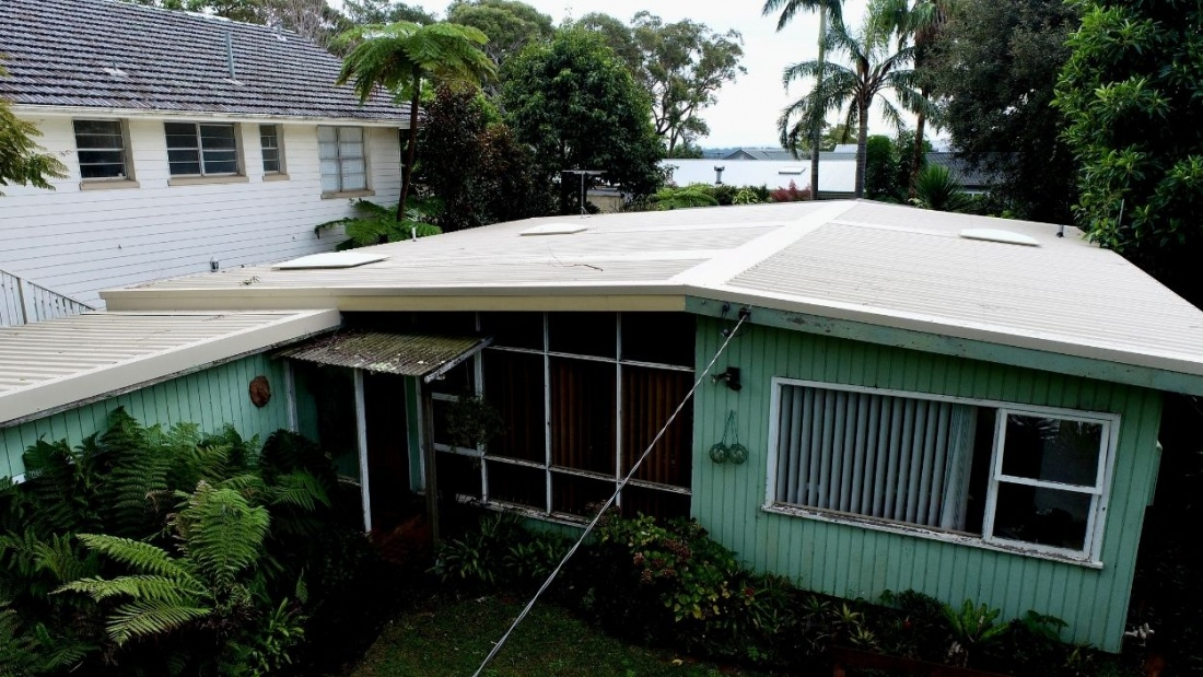 Colorbond Trimdek Roofing Installed, Low Pitch Roof, Bilgola Plateau,Northern Beaches,Sydney