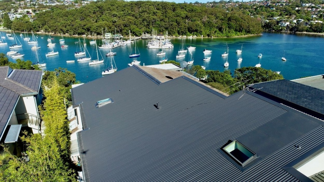 Colorbond Ultra Metal Roofing Installed in Fairlight by City2surf Roofing