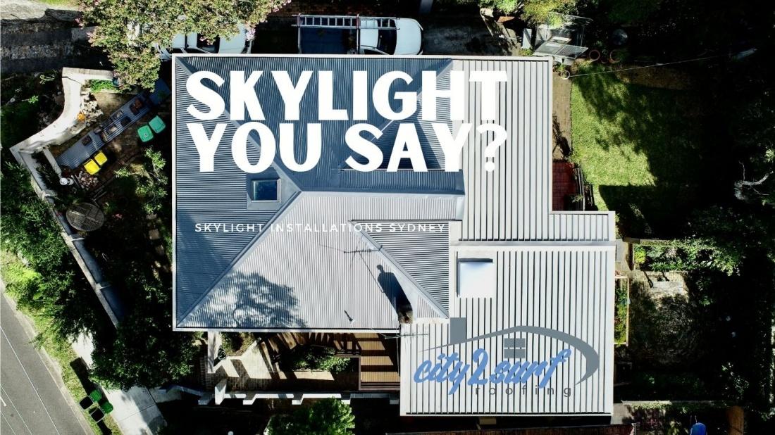 Metal & Tile Roofing Sydney Skylight Installation highlights video