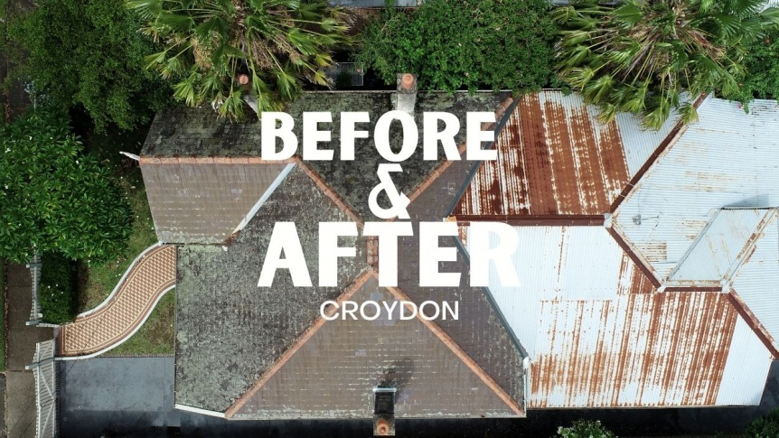 Metal Roofing Replacement | Croydon | Before & After