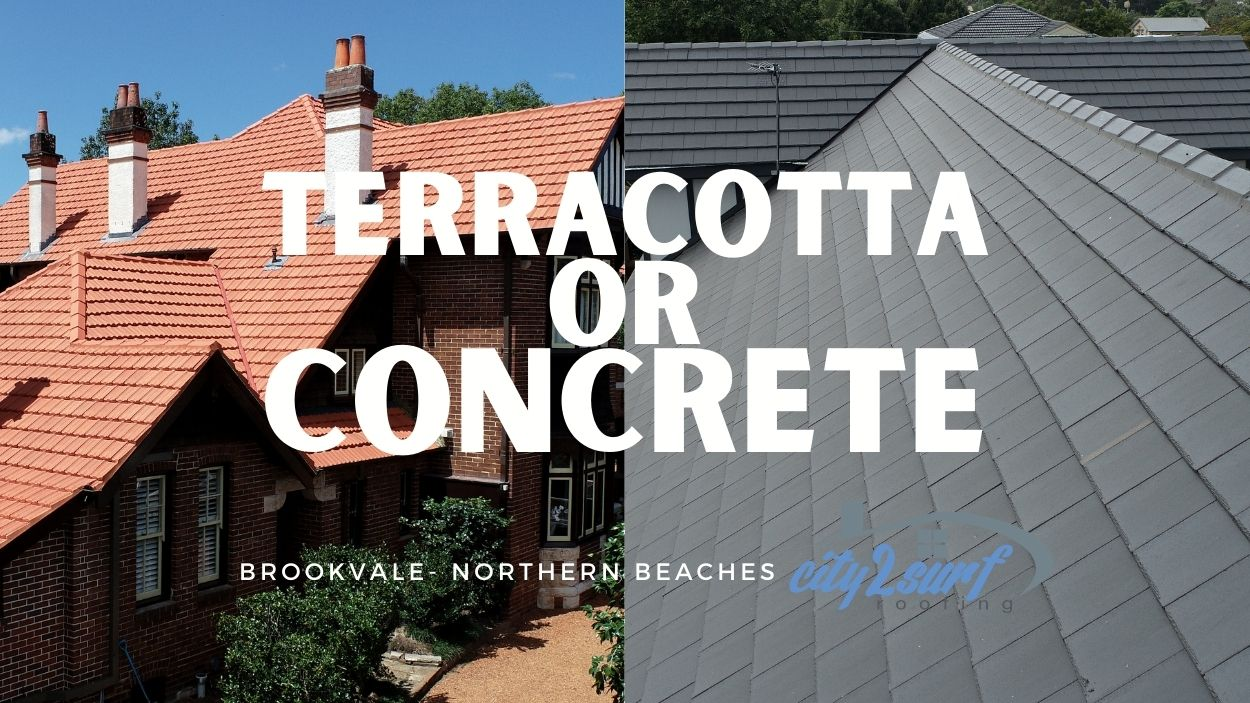Terracotta Or Concrete Tiles   Roofing Sydney Installers   City2surf Roofing