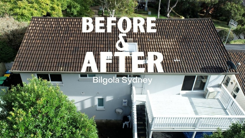Bilgola Metal Roofing | Northern Beaches Metal Roofing | Before & After | City2surf Roofing Sydney