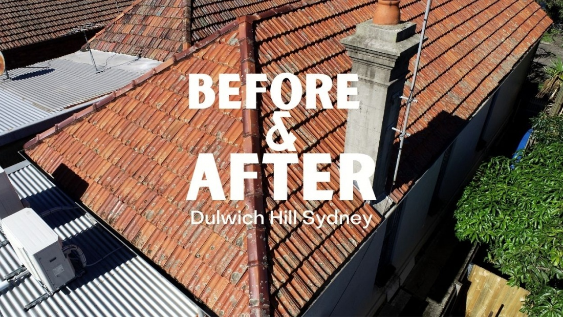 Tile Roofing Sydney Dulwich Hill   Before & After   City2surf Roofing Sydney